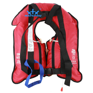 Auto Inflatable 150N Single Air Chamber Life Jacket