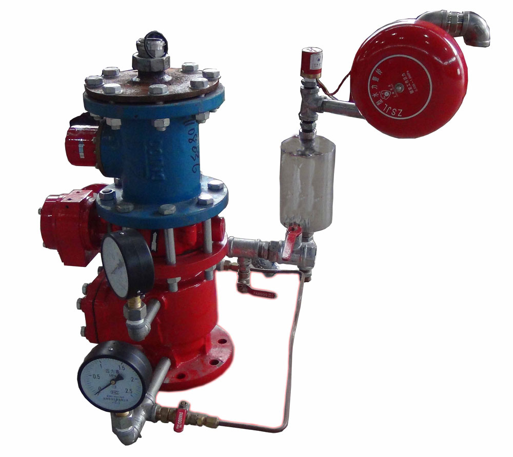 Fire Extinguishing System of Water Spray