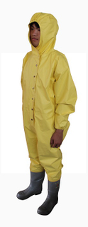 Non Gas tightness Chemical Protective Clothing
